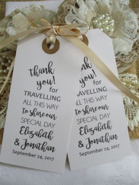 10 Thank You for Travelling Calligraphy Personalized Tag (1) (2)